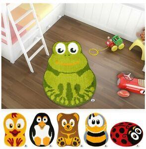 Carpet Child Bedroom Bathroom ANIMALI Non-Slip 55X75cm Soft Shaggy Baby