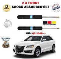 Per Audi Q5 TFSI FSI Tdi + 4x4 2008- > 2 x Anteriori SX + Destro Shock Absorber