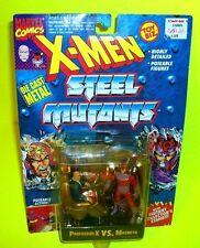 X-Men PROFESSOR-X VS MAGNETO Die-Cast STEEL MUTANTS Action Figures 2-Pack TOYBIZ