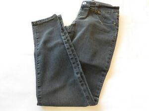 Bongo Jeans Youth Girls Pants Denim jeans Faded Black Pull On Size 16 GUC