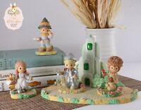 2003 Precious Moments Wizard of Oz Emerald City Set
