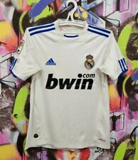 Real Madrid Spain Football Shirt Soccer Jersey Top Adidas 2010 Youth L / Mens Xs