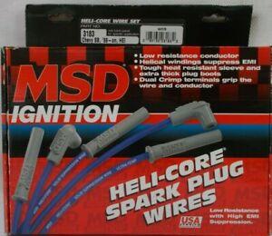Spark Plug Wire Set Heli-Core MSD 3183 Caprice Camaro Firebird V-8 1988+ HEI