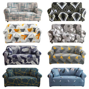 Universal Elastic Slipcover Couch Cover Sofa Cover 1/2/3/4 Seater Stretch