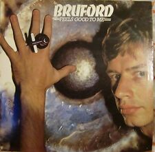 """12"""" VERY RARE LP FEELS GOOD TO ME BY BILL BRUFORD (1978) POLYDOR REC 2302 075 UK"""
