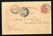 SOUTH AFRICAN REPUBLIC STATIONERY PIET RETIEF 1898