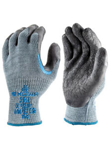 SHOWA 330 Re-Grip Gloves - Scaffolder Reinforced Palm Double Latex Coating