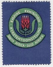 South Africa Poster stamp: National Empire Exhibition, 1936-1937  - cw52.12