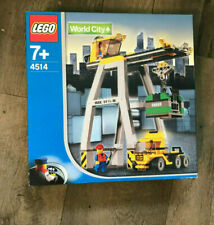 Lego World City Eisenbahn 4514 Verlade Kran/ Cargo Crane NEU + OVP