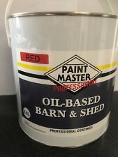 Rustic Red Barn And Shed,fence Paint 2.5LT Used By The Professionals