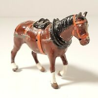 """Vtg Britains LTD Proprietors Made In England Lead Horse Approx 3"""" Long x 2"""" Tall"""