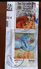 ESPAÑA 2020 - HB 5381 - sello FABADA ASTURIANA, matasellos manual. poca tirada.