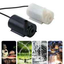 Mini Micro Submersible Water Pump Aquarium Garden Fish Pond Fountain 5 to 12V DC