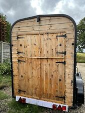 More details for converted rice horse box