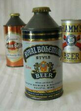 Royal Bohemian Cone Top Beer Can - Usbc 182-24