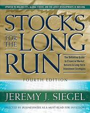 Stocks for the Long Run : The Definitive Guide to Financial Market Returns...