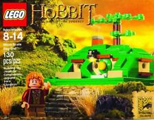 LEGO MICRO SCALE BAG END Set LOTR loose w/ minifig Bilbo Baggins comcon033