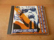 CD MAXIMUM Voice-Acapella Goes Voice Pop: Quincy Jones Bobby McFerrin en Vogue