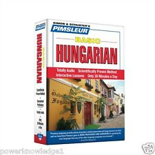 New 5 Cd Pimsleur Learn to Speak Basic Hungarian Language