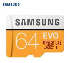 Samsung EVO 64GB SDHC GPS Card Carte Memoire C10 Max 100MBs SDXC U3 Cartao SD Sm