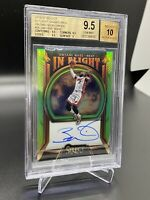 2019/20 PANINI SELECT DWAYNE WADE IN FLIGHT AUTO BGS 9.5 W/ 10 AUTO GEM MINT