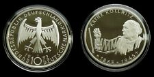 """Germany - 10 Mark 1992 """"G"""" Proof ~ Käthe Kollwitz, silver"""