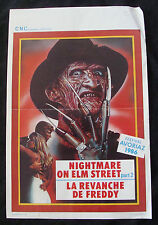 NIGHTMARE ON ELM STREET 2 movie poster Original Belgium poster