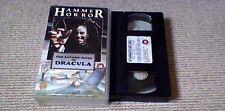 THE SATANIC RITES OF DRACULA WARNER UK PAL VHS VIDEO 1988 Hammer Horror
