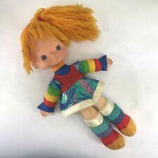 "Vintage 1983 Rainbow Brite Doll 18"" Hallmark Mattel Soft Body Yarn Hair"
