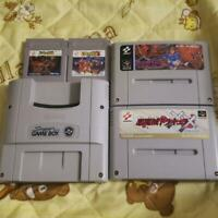 Nintendo SUPER GAME BOY & KONAMI Castlevania Series set of 4 SFC software
