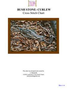 BUSH STONE-CURLEW - CROSS STITCH CHART
