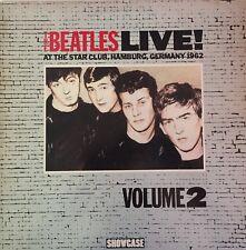 THE BEATLES Live At The Star Club Hamburg Germany 1962 Vol 2 LP RARE