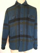 VTG 60s ~ PENNEYS TOWNCRAFT ~ Thick Plaid Flannel Jacket ~ L~Post War~Rockabilly