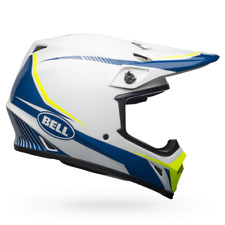 NEW 2018 Bell MX9 Mips Torch Husqvarna Replica Helmet Adult Large MX Motocross