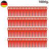 100 Kunststoffmesser Ersatzmesser / Messer /Nylon passt für Akku Rasentrimmer SW