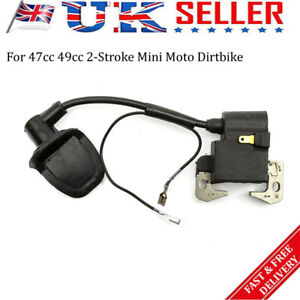 Replacement Mini Moto Ignition Coil Pack For 47-49cc Quad Dirt Bike Accessories