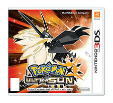 NEW Pokémon Ultra Sun Standard Edition Pokemon for the Nintendo 3DS
