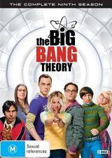 The Big Bang Theory : Season 9 Series Nine (DVD, 2016, 3-Disc Set) R4