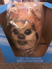 Vintage Don Post Star Wars ROTJ Ewok Mask Wicket w / Original Box 1983- MIB!