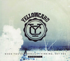Yellowcard - When You're Through Thinking, Say Yes (Acoustic) (2011)  CD  NEW