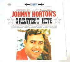 Johnny Horton Greatest Hits Record Vinyl LP 1961 Vintage Country Columbia CBS