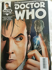 Doctor who   10th  doctor   08    titan  comic  with sonic screwdriver  cover