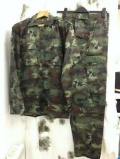 Royal Thai Army Combat Shirt & Trousers 2nd issue Digital Woodland Pattern M