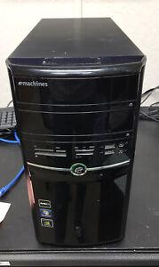 eMachines ET1331 Desktop - AMD Athlon II X2 220 2.80GHz 4GB RAM - NO HDD NO OS
