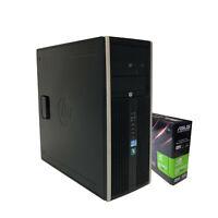 Gaming PC HP Intel Core i7-2600 8GB RAM 256GB SSD + 1TB HDD, NVIDIA GT 710 2GB