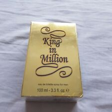 King in a Million Aftershave - New in Packaging - 100ml, 3.3 fl, Men' Aftershave