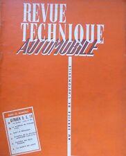 Revue technique CITROEN DS 19 3ème partie ( suite et fin ) RTA 135 de 1957