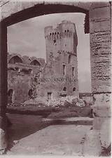 Abbaye de Montmajour Tour Arles France VIntage Citrate ca 1900