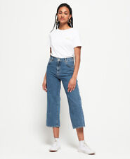 Superdry Womens Phoebe Wide Leg Jeans