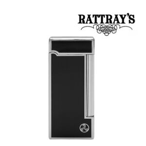NEW Rattrays -  Grand - Black - Soft Flame Pipe Lighter